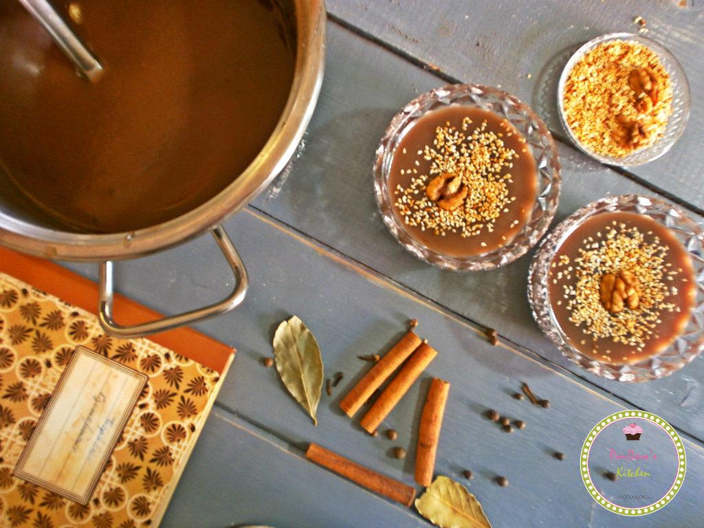μουσταλευριά-γλύκισμα-μούστος-φθινόπωρο-Σεπτέμβριος