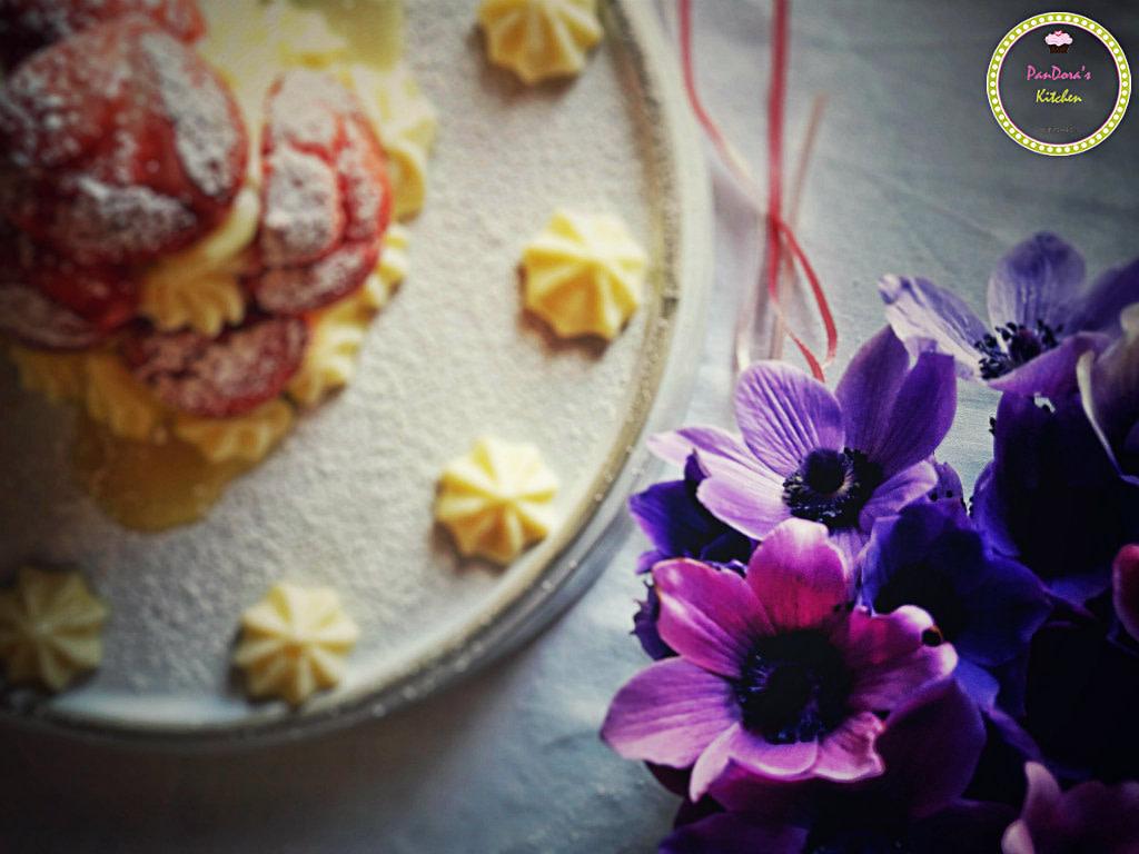 profiterol-white chocolate-valentine;s day-pandoras kitchen-pink