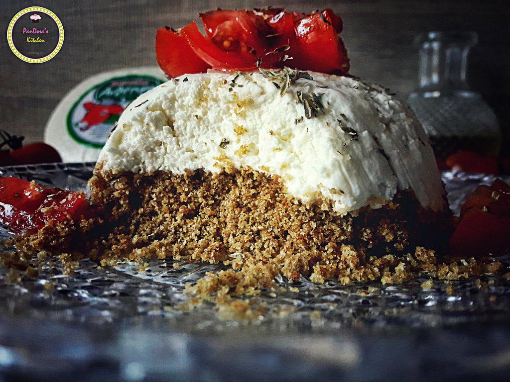 Αλμυρό Cheesecake-μαστέλο-χίος-τυρί-ντάκος