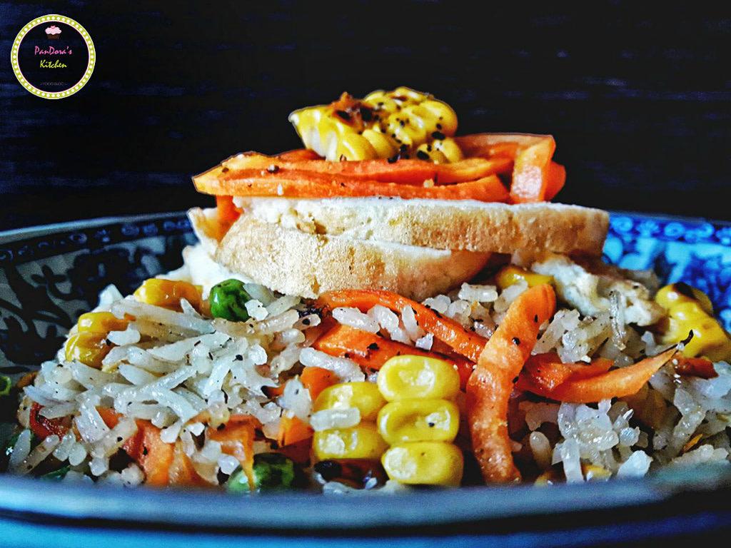 fried rice-chinese food-pandora's kitchen-rice